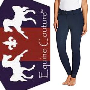 Equine Couture Breeches Navy Blue